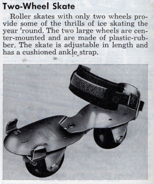Early Metal Wheeled Skate