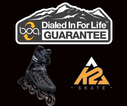 K2 Skates with BOA Technology